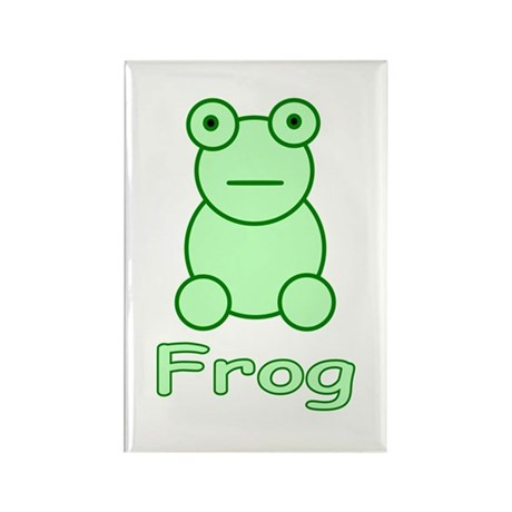 Funny Frog Rectangle Magnet