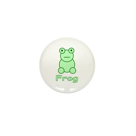 Funny Frog Mini Button