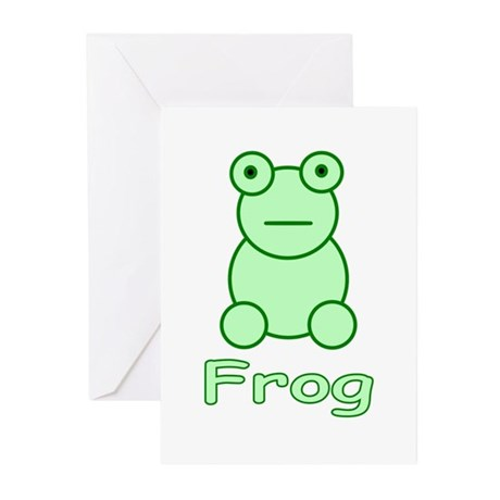 Funny Frog Greeting Cards (Pk of 10)