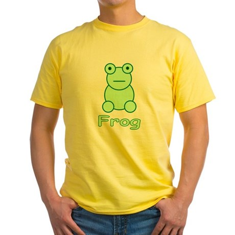 Funny Frog Yellow T-Shirt