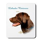 Choclate Lab Best Friend 1 Mousepad