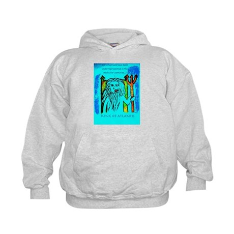 King of Atlantis Kids Hoodie