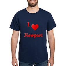 I Love Newport #21 T-Shirt