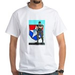 Captain Hawke White T-Shirt