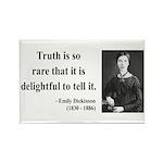 Emily Dickinson 19 Rectangle Magnet (10 pack)