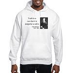 Emily Dickinson 19 Hooded Sweatshirt