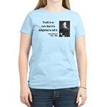 Emily Dickinson 19 Women's Light T-Shirt