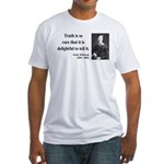 Emily Dickinson 19 Fitted T-Shirt