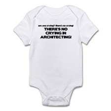 There's No Crying in Architecting Infant Bodysuit