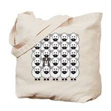 Berner and Sheep Tote Bag