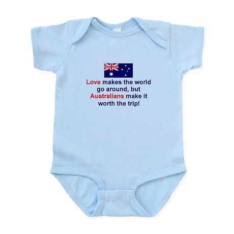 Love Australians Infant Bodysuit