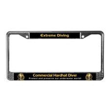 Commercial Hardhat Diver, License Plate Frame