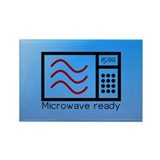 Microwave Ready Rectangle Magnet (100 pack)