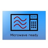 Microwave Ready Postcards (Package of 8)