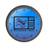 Microwave Ready Wall Clock