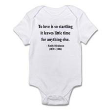 Emily Dickinson 17 Infant Bodysuit