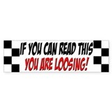 Street Racing Car Bumper Bumper Sticker