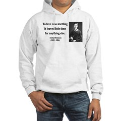 Emily Dickinson 17 Hooded Sweatshirt