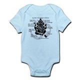 &quot;Ganesh 101&quot; Infant Bodysuit