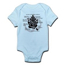 """Ganesh 101"" Infant Bodysuit"