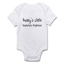 Daddy's Little Materials Engineer Onesie
