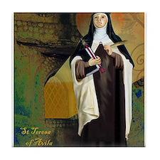 St Teresa of Avila Tile Coaster