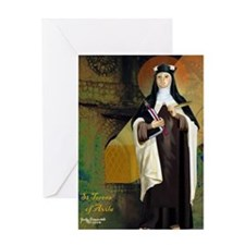 St Teresa of Avila Greeting Card