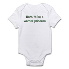 BTB Warrior Princess Infant Bodysuit
