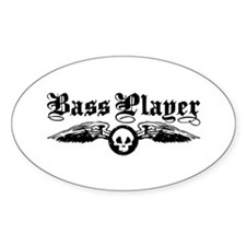 Bass Player Decal