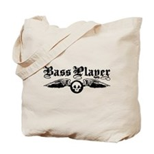 Bass Player Tote Bag