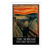 The Scream Postcards (Package of 8)