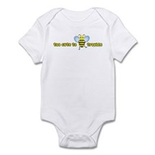 Too Cute To Bee Trouble Infant Bodysuit