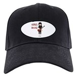 Girls Rock Black Cap