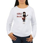Girls Rock Women's Long Sleeve T-Shirt