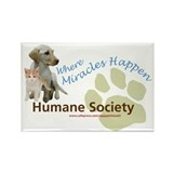 Humane Socieyt Rectangle Magnet