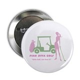 "Pink Diva Golf - 2.25"" Button"