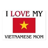 Cute Vietnam map Postcards (Package of 8)