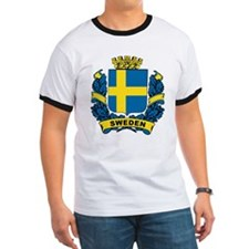 Stylish Sweden Crest T