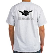 Military Freefall Skydiver Grey T-Shirt