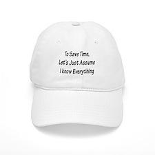 Save Time Baseball Cap