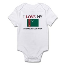 I Love My Turkmenistani Mom Infant Bodysuit