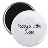 Daddy's Little Judge Magnet