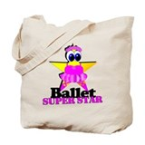 Ballet Star Tote Bag
