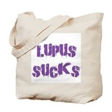 Lupus SUCKS Tote Bag