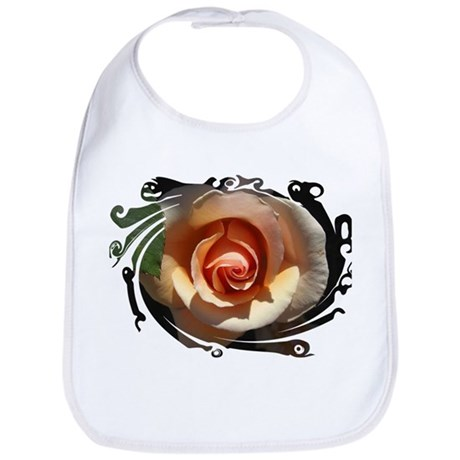 Peach Rose Bib
