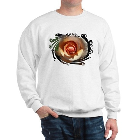 Peach Rose Sweatshirt
