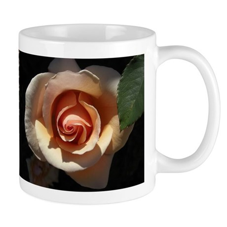 Peach Rose Mug