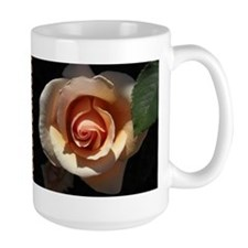 Peach Rose Large Mug