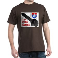 I Love Myke Hawke T-Shirt