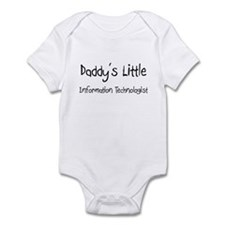 Daddy's Little Information Technologist Infant Bod